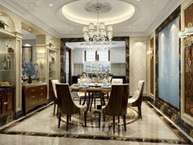 新古典奢华风格别墅客厅装修效果图