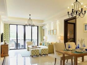 浪漫风格小户型客厅博大同途经典案例