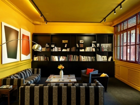 混搭古典风格公寓客厅玄关餐厅设计图赏