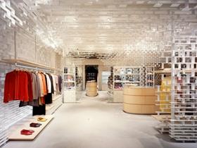 北欧中式风格服装店设计图赏