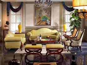 欧式复古风格家具家居装修效果图