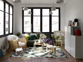 法国时尚家居habitat客厅装修效果图