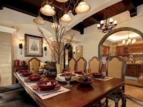 复古奢华美式风格别墅装潢案例