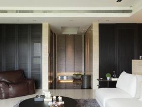 简洁现代112平两居装修设计