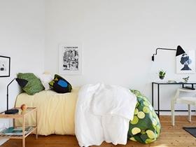 清新简约风80平一居室装修案例