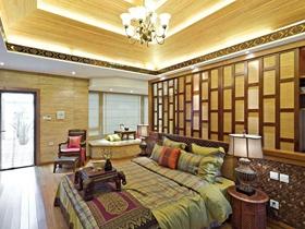 典雅中式风格160平三居室装修案例