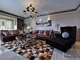 欧式古典雅致两居装修设计案例