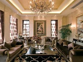 奢华古典欧式风格别墅装修案例