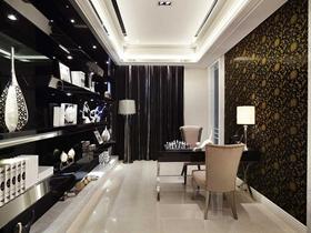 轻奢现代风格150平二居室装修设计