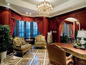 奢华宫廷欧式风格别墅装修案例