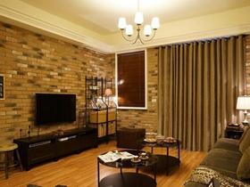 温馨雅致美式106平三居装修设计欣赏