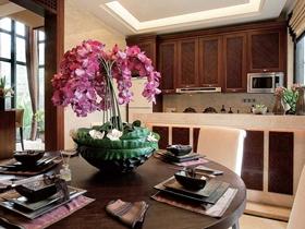 典雅褐色新古典风格别墅装修设计