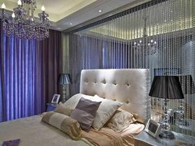 黑色质感现代风格二居室装修案例