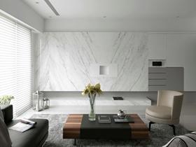 简单低调现代风格三居装修效果图