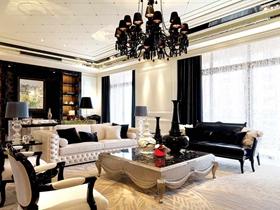 优雅大气欧式风格四居装潢设计