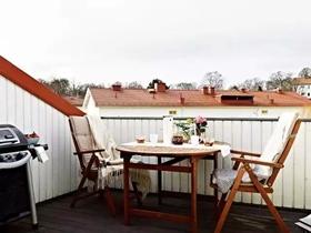 清新自然68平北欧风格复式公寓设计案例