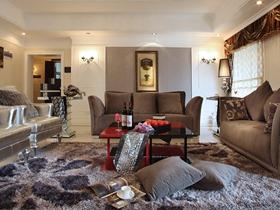 咖啡梦新古典230方三居装修案例