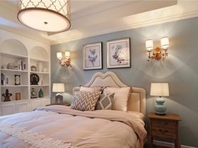 雅致美式风格舒适四居装修案例