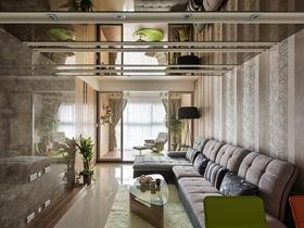 清新质朴简约三居装修案例