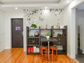 103方简约都市温馨三室两厅设计效果