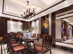 200平宁静中式四室两厅装修美图欣赏
