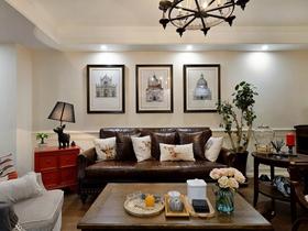 邂逅活力美式两居室小户型装修精品案例