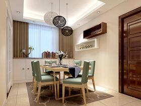 110平欧式温馨实用三室一厅装修案例分析