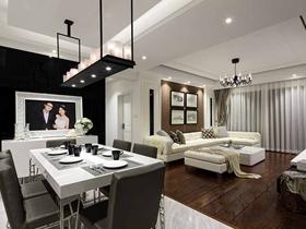 优雅品味新古典主义三居室装修案例精选