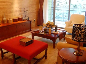 2016中式华美三居室装修案例