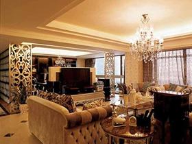 人气简欧风格温馨三室一厅装修效果图集