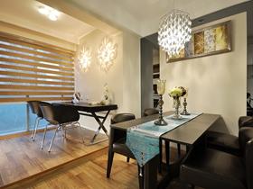 新古典风格三居室精致装潢