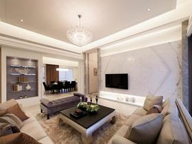 新古典风豪华四居室装修图集欣赏