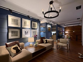 北欧温馨简约风复式家居设计