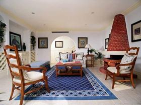 甜美地中海式别墅装潢设计
