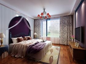 地中海三居室装修案例