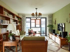 浓情东南亚两居室装修效果图
