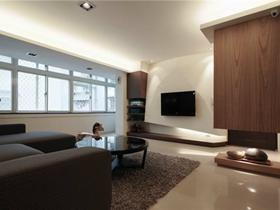 简约风格现代二居室设计