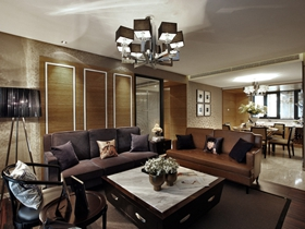 宜家风格三居室家居装饰效果图片