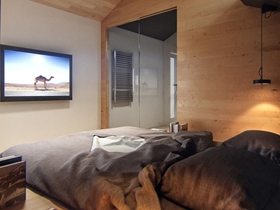 欧式精装一居室家庭装修效果图片