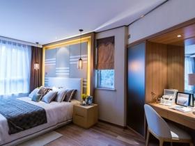 简约风格设计三居室效果图