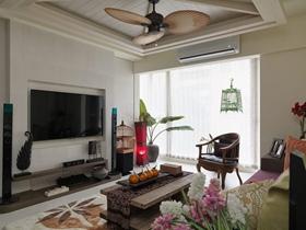东南亚装修两居室欣赏大全