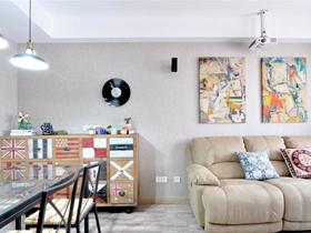 轻工业混搭二居室设计欣赏