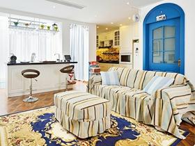 地中海风格家装别墅室内设计效果图