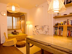 中式家居一居室装修案例