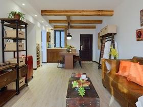 新古典风格一居室住房装修效果图