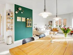 简欧现代风格二居室设计