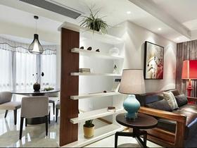 素雅新中式三居室装潢装饰