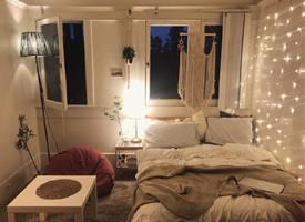 韩式风格单身居家卧室效果图
