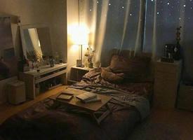 温馨简约的单人卧室装修效果图