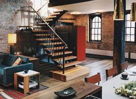 复古感低调的阁楼装修效果图